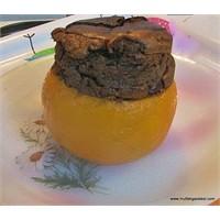 Çikolatalı Portakal Suflesi