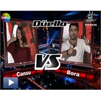 O Ses Türkiye – Düello : Bora & Cansu