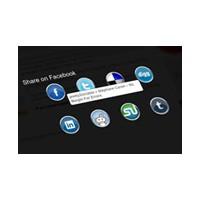 Sosyal Medya Paylaş Butonları V2