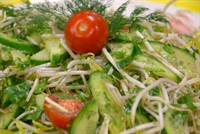 Domatesli Soyalı Salata