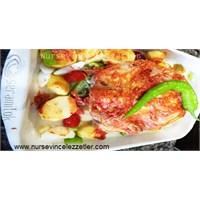Fırında Bütün Tavuk Nasıl Yapılır Tarifi