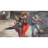 The Avengers Setinden Görüntüler