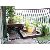 Balkonlara Özel Bahçeler