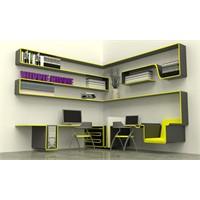 Çalışma Odası Mobilyaz Dizaynı