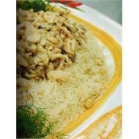 Bademli Tavuklu Pilav Nasıl Yapılır?