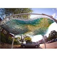 Plastik Şişelerden Park Yeri Tasarımı