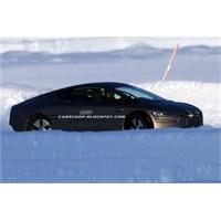 Volkswagen Xl1 Soğuk Hava Testinde