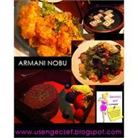 Arman Nobu Restaurantta Ünlülerle Enfes Bir Yemek