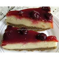 Vişneli Cheesecake - Unutulmaz Lezzetler'den