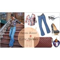 Tarzını Benzet - Katie Holmes ( Kareli Gömlek )