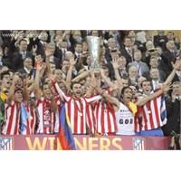 Falcao Lig'i Kazanan Atletico Madrid