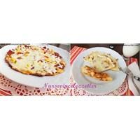Tavada Mayasız Hamur Pizzası