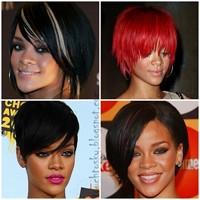 Kısa Saç Kraliçesi Rihanna