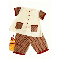 Bebek Kazak Pantalon Örgü Takım