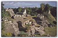 Guatemala Tapınakları | Tikal - Uaxactun - Xunan T