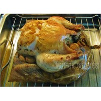Poşette Fırın Tavuk- Mantarlı