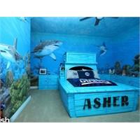 Deniz Temalı Çocuk Odaları