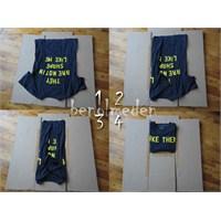 Diy: Giysi Katlama Aracı