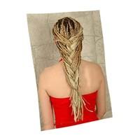 Örgülü saç modası