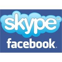Facebook'ta Skype Sayesinde Görüntülü Konuşma