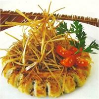 Patlıcanlı Simit Böreği