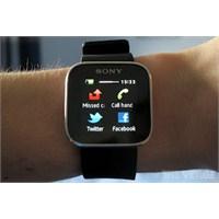Sony'den Yeni Akıllı Saat Geliyor!