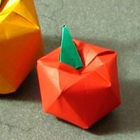 Kağıttan Elma Yapmak