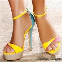 Neon Renk Ayakkabı Modelleri