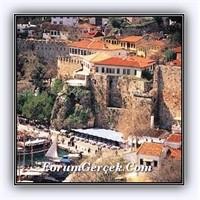 Dar Sokakları Ve Tarihi İle Kaleiçi - Antalya