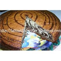 Zebra Desenli Kek Nasıl Yapılır (Püf Noktası)