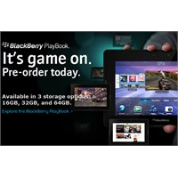 Blackbery Playbook'un Ucu Göründü