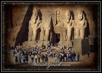 Mısır daki Abu Simbel Tapınakları