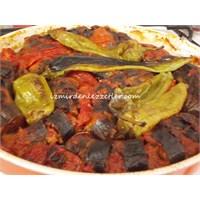 Fırında Patlıcan Kebabı Tarifim