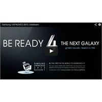 Samsung Galaxy S4 Lansmanı Canlı Yayın