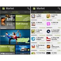 Android Market Tekrar Güncellendi 3.1.5