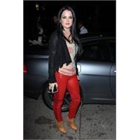 2013 Kırmızı Pantolon Modelleri İle Kombin Oluştur
