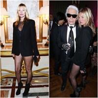 Saint Laurent: Kate Moss & Lady Gaga