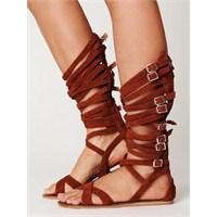 Yaz İçin En İdeal Gladyatör Sandaletleri