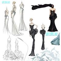 Çizimlerden Elbiselere Ünlü Modacılar