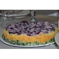 Renkli Katlı Patates Salatası