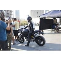 Tanıtım Filminde Motosiklet Sahnesi Kamera Arkası