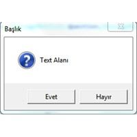 C# Messagebox Kullanımı
