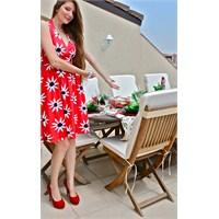 Kırmızı / Yeşil Bahar Davet Sofrası…