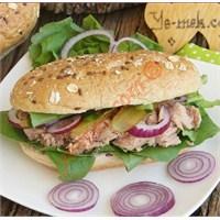 Rokalı Ton Balıklı Sandviç (Resimli Anlatım)