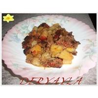 Patates-patlican Oturtma