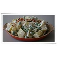Bezelyeli Patates Salatası Tarifi