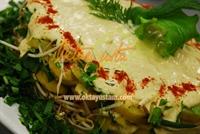 Taze Baharatlı Patates Salatasası