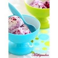Blueberryli Dondurma