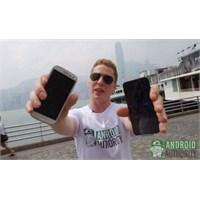 İphone 5 Vs Galaxy S3 Beton Testi