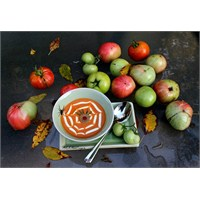 Domates Çorbası / Cadılar Bayramı Çorbası